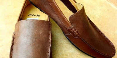 Clarks Loafers (Brown)