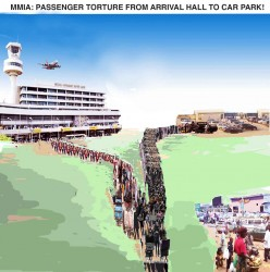MMIA: PASSENGER TORTURE FROM ARRIVAL HALL TO CAR PARK! BY HENRY BOYO